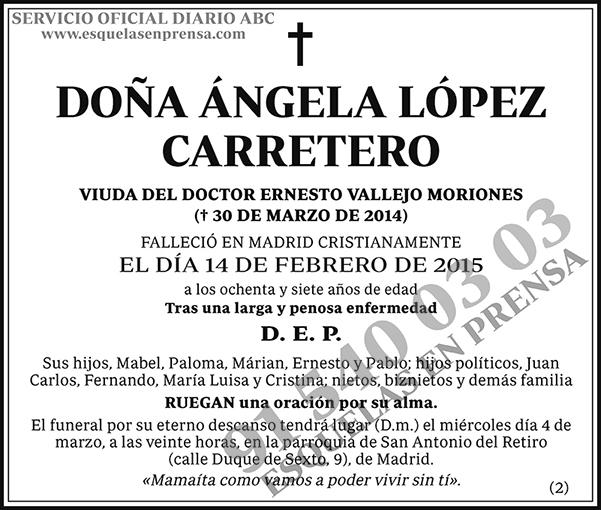 Ángela López Carretero